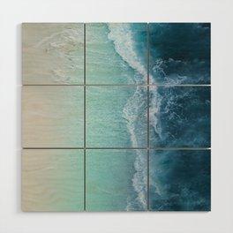 Turquoise Sea Wood Wall Art