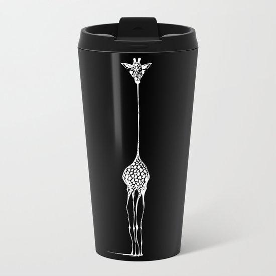 Inverted Raffe Metal Travel Mug