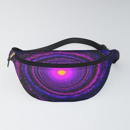 Alien Galaxy Abstract Fanny Pack