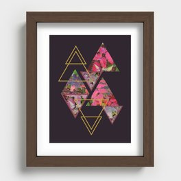 Purple Fall Recessed Framed Print