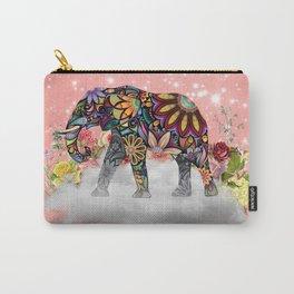 MANDALA ELEPHANT Carry-All Pouch