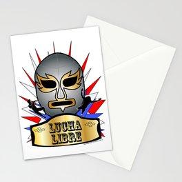 Lucha Champion Stationery Cards
