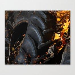 I got friends with tractors Canvas Print