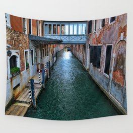 Canal of Venice Wall Tapestry