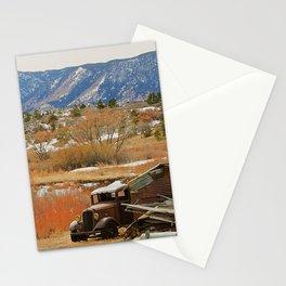 Autumn Jalopy Stationery Cards