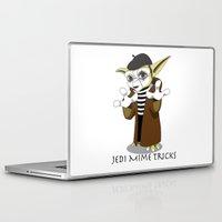 jedi Laptop & iPad Skins featuring Jedi Mime Tricks by TCarver