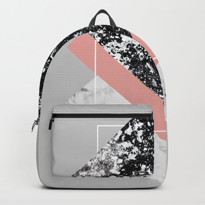 Geometric Textures 1 Backpack