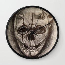 Sinful Death Wall Clock