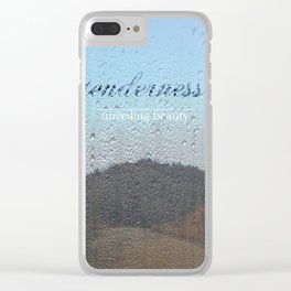 Unveiling Beauty - Tenderness Clear iPhone Case