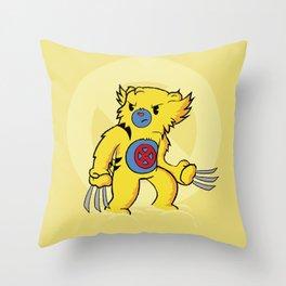 Carebearine Throw Pillow
