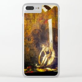 Inner Turmoil Clear iPhone Case
