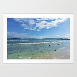 Lindquist Beach St. Thomas, Virgin Islands Art Print