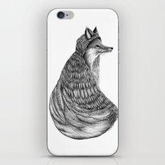 Fox- Feathered. iPhone & iPod Skin