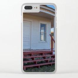 Hurd Round House, Wells County, North Dakota 19 Clear iPhone Case