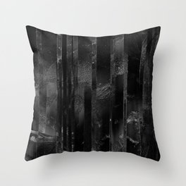 Absence IV Throw Pillow