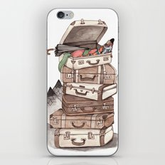 Let's Go Adventuring iPhone & iPod Skin