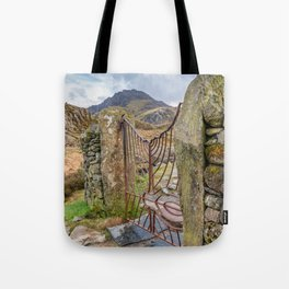 Gate To Tryfan Snowdonia Tote Bag