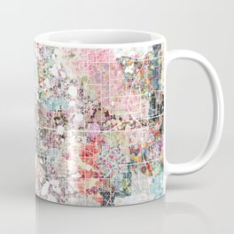 Orlando map landscape Coffee Mug
