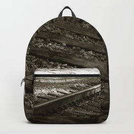 Railroad Tracks Backpack