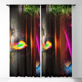 Our world is a magic - Sunset Blackout Curtain