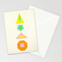 Shapes Within Shapes Stationery Cards