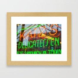 Reuben Sandwich Framed Art Print