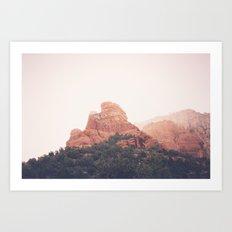 Sunrise in Sedona Art Print