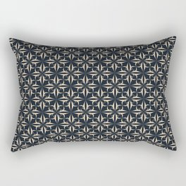 Eryn Indigo Collection Rectangular Pillow