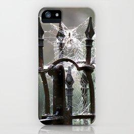 """Tangled Webs"" jjhelene design iPhone Case"