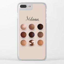 Melanin Clear iPhone Case