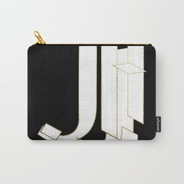 Beautiful Armor Letter J Carry-All Pouch