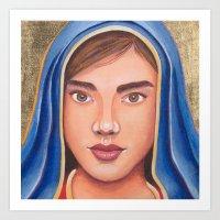 Mary Full of Grace Art Print