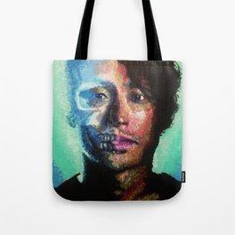 The Walking Dead: Skeleton Glenn Tote Bag