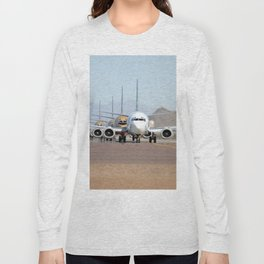 Busy Airport Lineup Long Sleeve T-shirt