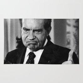 Richard Nixon Thumbs Up Rug
