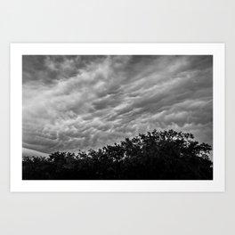 Afternoon Storm Art Print