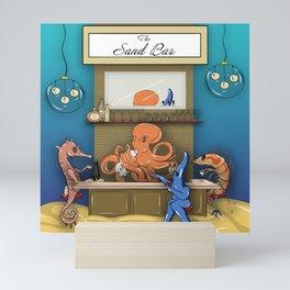 The Sand Bar Mini Art Print
