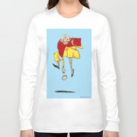 the last airbender Long Sleeve T-shirts featuring The Airbender by Kassia M. K.