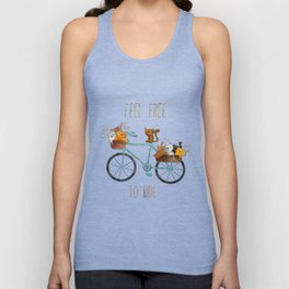 bicycle /Agat/  Unisex Tank Top