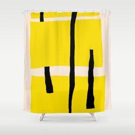 Yellow dream Shower Curtain
