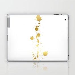 Golden abstract #2 Laptop & iPad Skin