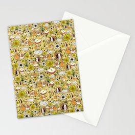 Guinea Pig Pattern Stationery Cards