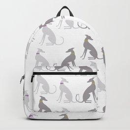 Whippet Pattern Backpack