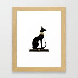 Egyptian Cat Sphynx Framed Art Print