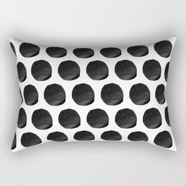 Cut Paper Polka Dots Rectangular Pillow