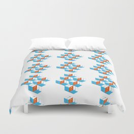 Musical repeating pattern No.3, Collection No.1 Duvet Cover