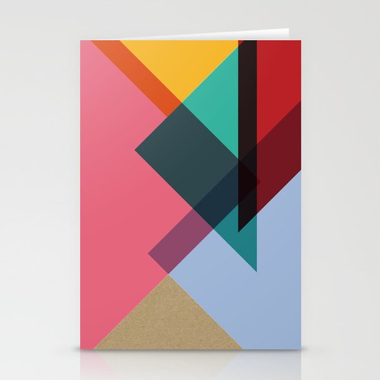 Triangles (Part 2) Stationery Cards