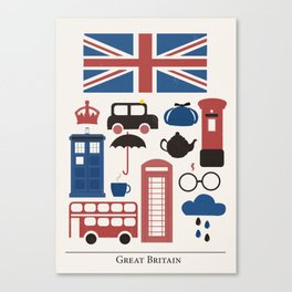 Great Britain - London Canvas Print