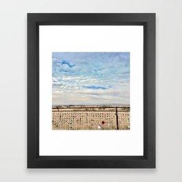 Marfa Locks Framed Art Print
