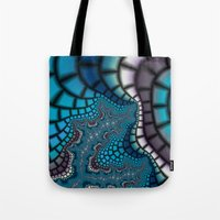 egyptian Tote Bags featuring Egyptian Goddess by Christy Leigh